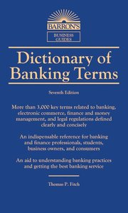 Dictionary of Banking Terms (Revised)