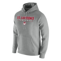 FOOTBALL NIKE GRAY HOODED SWEATSHIRT
