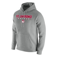 HOCKEY NIKE GRAY HOODED SWEATSHIRT
