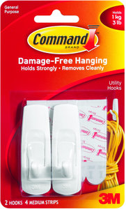 COMMAND HOOK 2 PACK