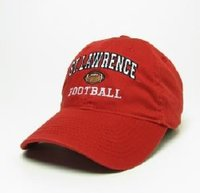 FOOTBALL HAT LEGACY RED W/ICON