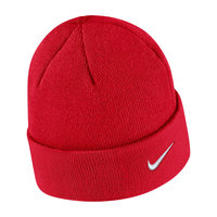 NIKE KNIT HAT BLACK CUFFED BEANIE