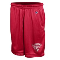 CHAMPION MEN'S MESH SHORTS W/ SAINTS SHIELD LOGO