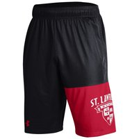 UNDER ARMOUR MEN'S SHORTS BLACK/RED