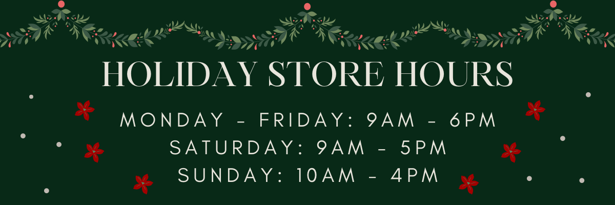 Holday Store hours