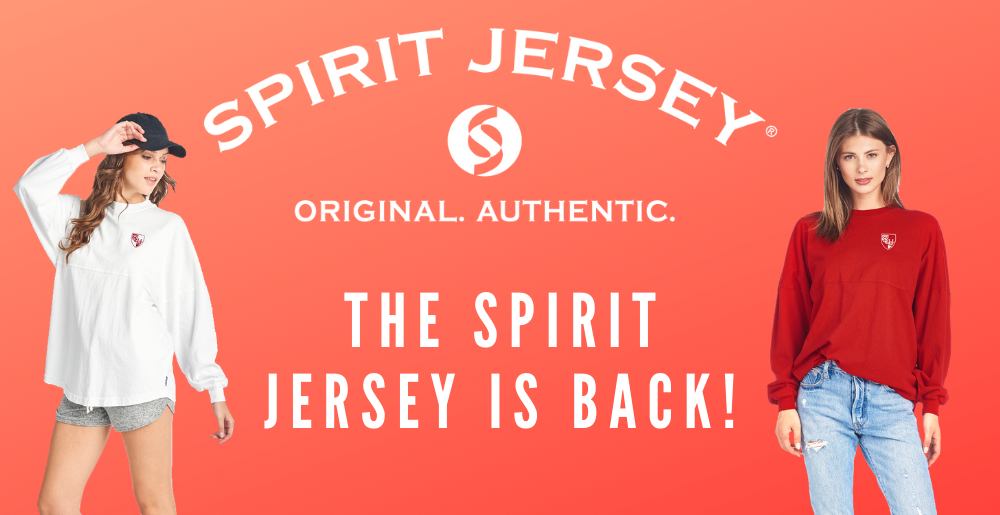 Spirit Jersey is back